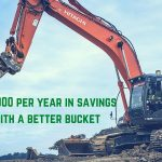 eiengineering efficient excavator bucket savings