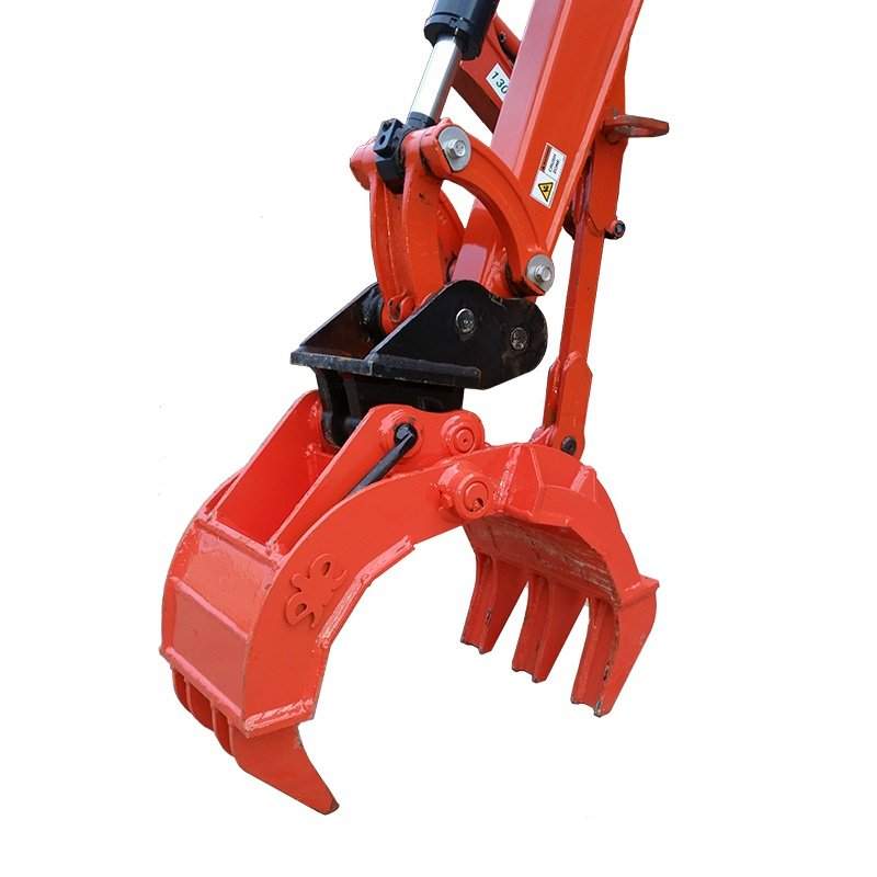 eiengineering excavator mechanical grapple grab