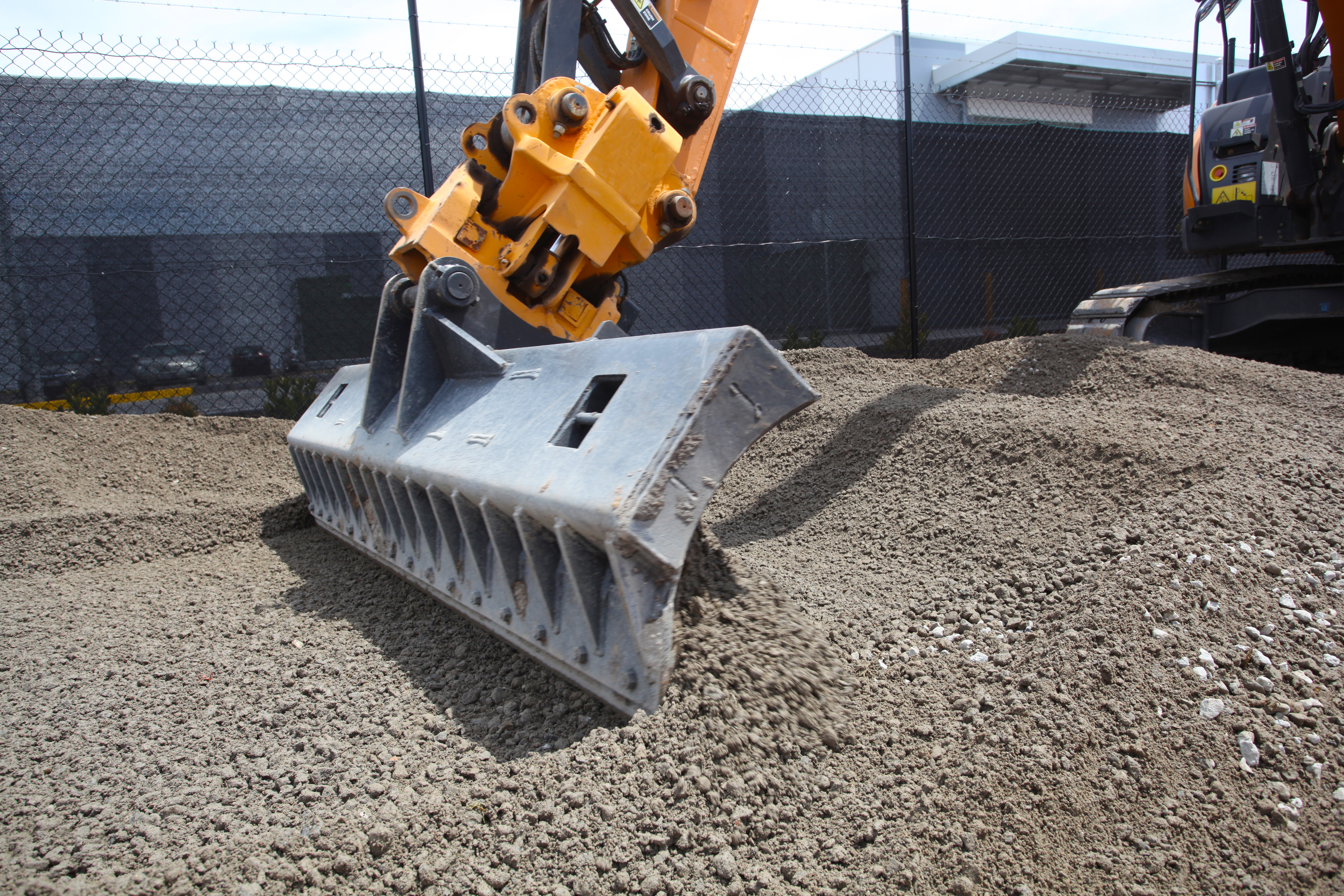 Excavator Grader blade